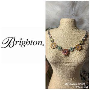 Brighton necklace garden of eden euc w bag red